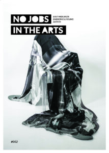 Cover image of issue two of No Jobs in the Arts.