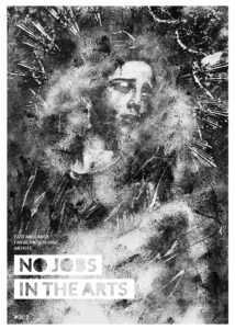 Cover image of issue three of No Jobs in the Arts.
