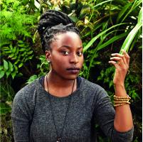 Portrait of Arit Emmanuela Etukudo. Click to read interview.